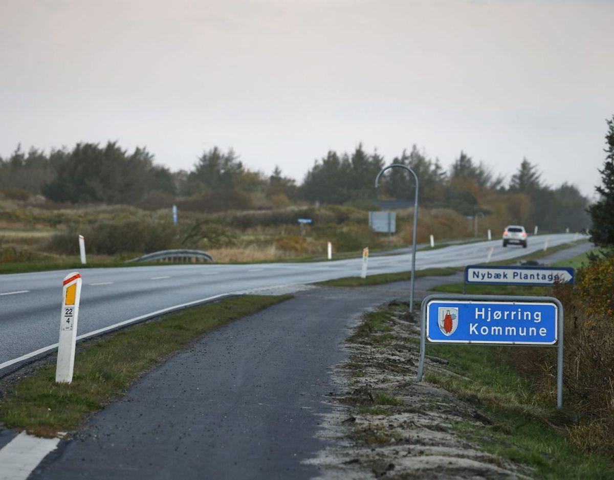 Borgere opfordres – kraftigt – til ikke at overskride kommunegrænserne i Nordjylland. (Foto: Claus Bjørn Larsen/Ritzau Scanpix)