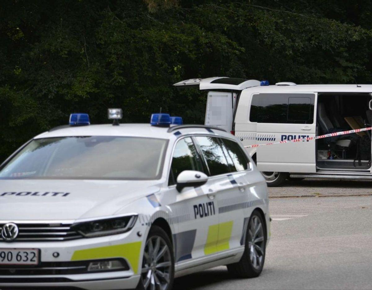 I juli blev en ung mand dræbt ved travbanen i Aarhus. Angiveligt i forbindelse med en narkohandel. I den sag fremstilles en mand i grundlovsforhør. Foto: Øxenholt Foto.