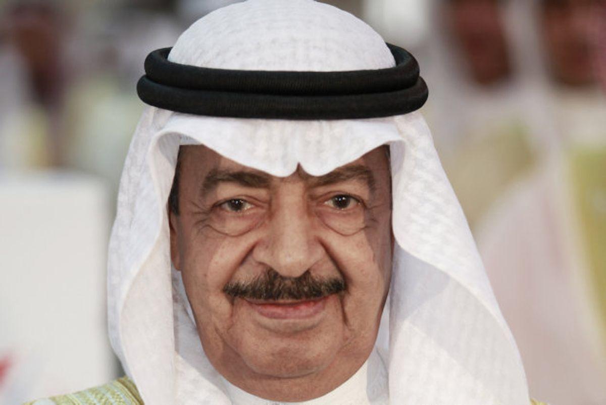 Den afdøde premierminister, Khalifa bin Salman al-Khalifa, er den første og hidtil eneste premierminister i landet, siden det officielt blev uafhængigt fra Storbritannien i 1971. Foto: Hamad I Mohammed/Reuters