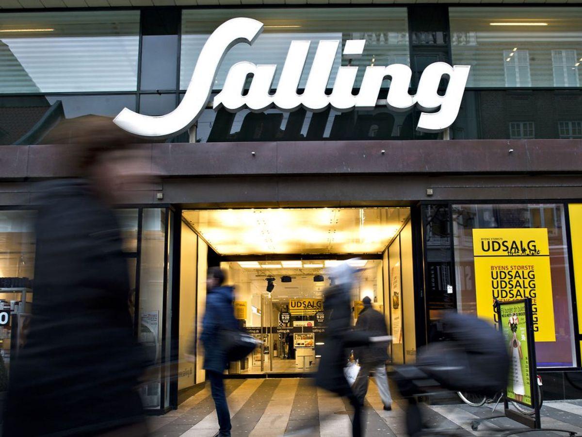 Bistroen i Salling i Aarhus har haft problemer med både rengøring og opbevaring af fødevarer. Det har siden maj kostet 45.000 kroner. (Foto: Claus Fisker/Scanpix 2017)