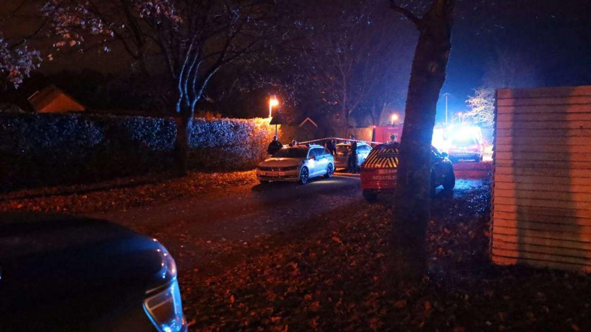Den 69-årige, der førte bilen, har fået taget en blodprøve efter dødsulykken. Foto: Øxenholt Foto