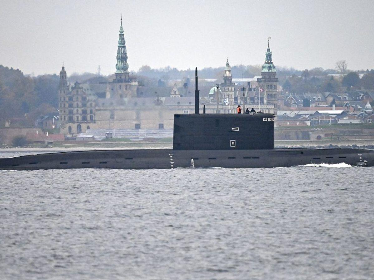 Mandag var en russisk ubåd 'på besøg' i Øresund. KLIK for flere billeder. (Foto: 50090 Johan Nilsson/TT/Ritzau Scanpix)