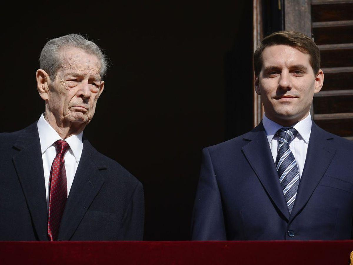 Prins Nicholas er blevet far til en datter med hustruen Alina-Maria. Han er barnebarn af den afdøde rumænske kong Michael. Foto: (Octav Ganea/Mediafax via AP, File) ROMANIA OUT