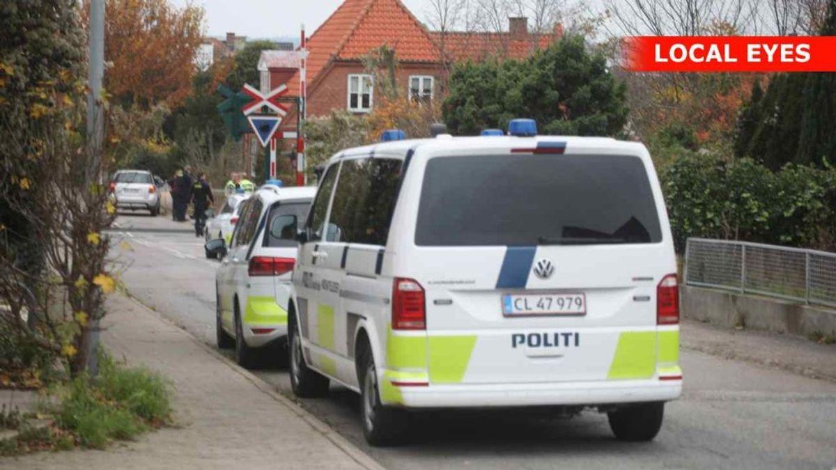 En 14-årig dreng er blevet snittet af toget tirsdag morgen ved Hundested. Foto: Local Eyes