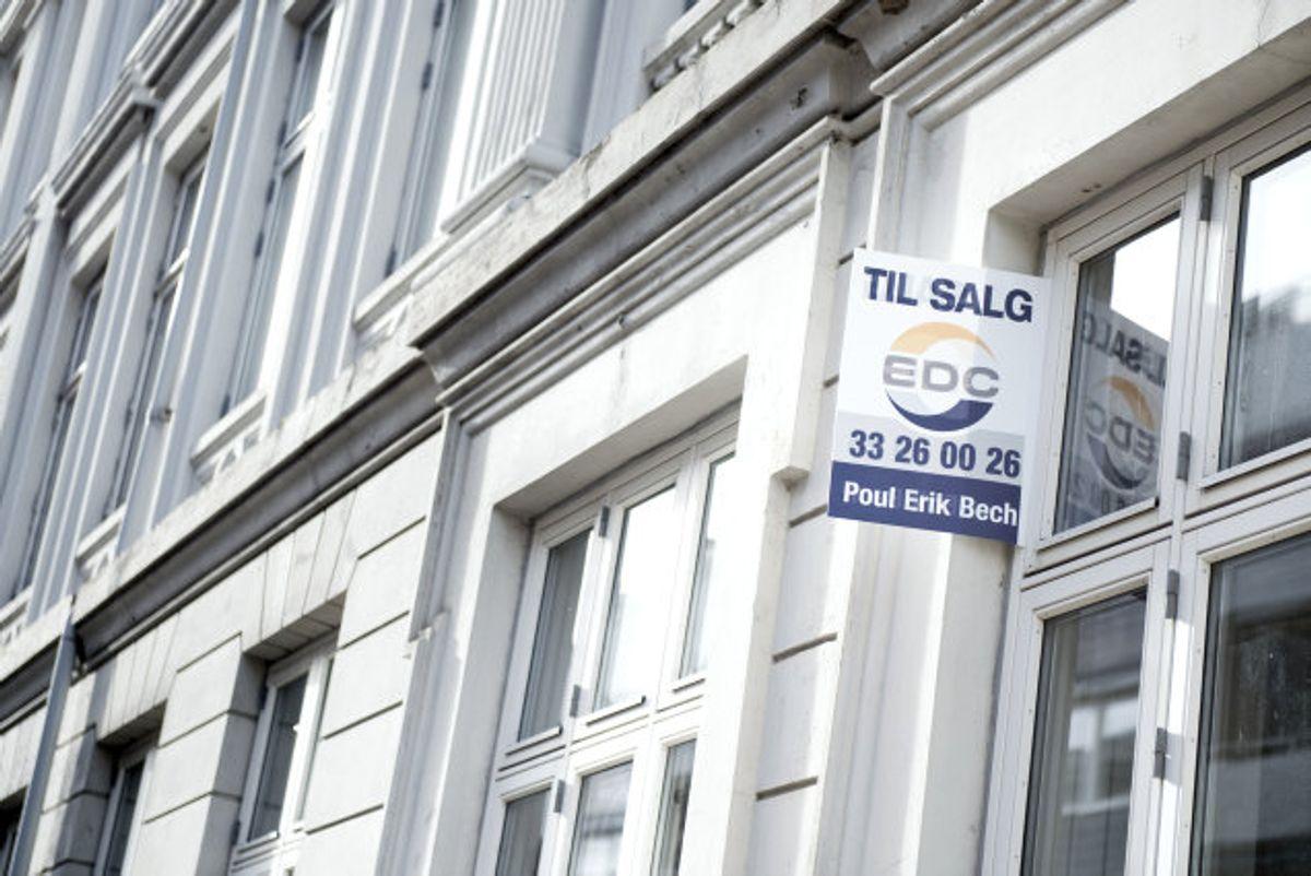 Boligpriserne fortsatte i oktober med at stige, og især lejligheder i København og sommerhuse er steget markant i pris det seneste år. (Arkivfoto). Foto: Mathias Løvgreen/Scanpix