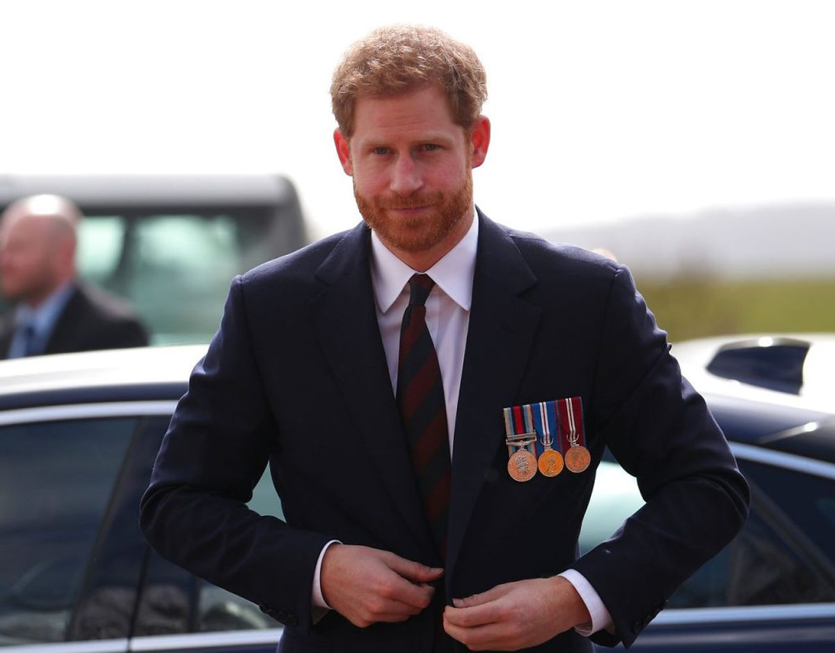 Prins Harry måtte lide den tort at få blankt nej til at få nedlagt en krans på sine vegne på Remembrance Sunday den 8. november. Klik videre i galleriet for flere billeder. Foto: Scanpix/REUTERS/Hannah McKay