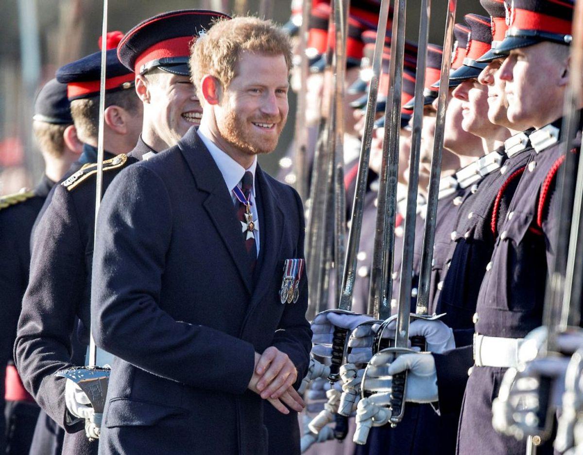 Prins Harry var tidligere i mere end 10 år en del af Storbritanniens væbnede styrker og har i det hele taget et stærkt engagement i arbejdet til fordel for veteraner. Klik videre i galleriet for flere billeder. Foto:  Scanpix/REUTERS/Richard Pohle/Pool