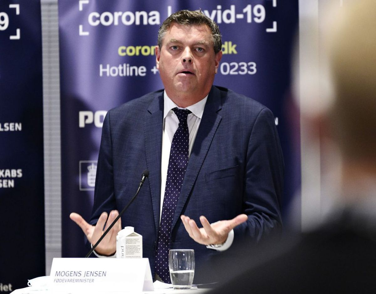 Fødevareminister Mogens Jensen (S) beklager nu. Foto: Philip Davali/Ritzau Scanpix