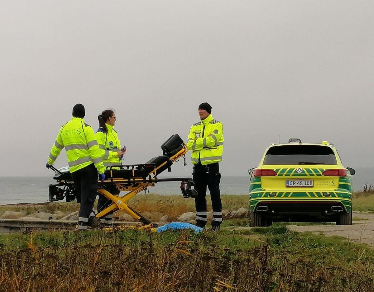 Dødsfaldet skal nu undersøges. Foto: Presse-fotos.dk.