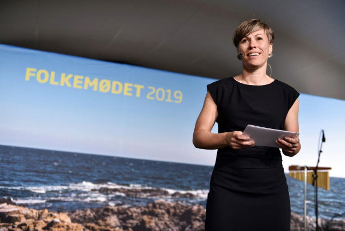 Winni Grosbølls (S) tid som Bornholms borgmester lakker mod enden, efter at hun har takket ja til et andet job. (Arkivfoto) Foto: Mads Claus Rasmussen/Scanpix