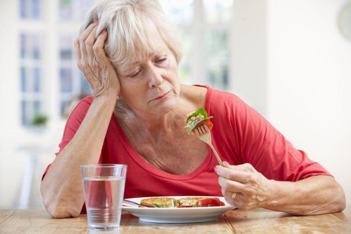 Manglende appetit. Kilde: Sundhedsguiden.dk. Arkivfoto.