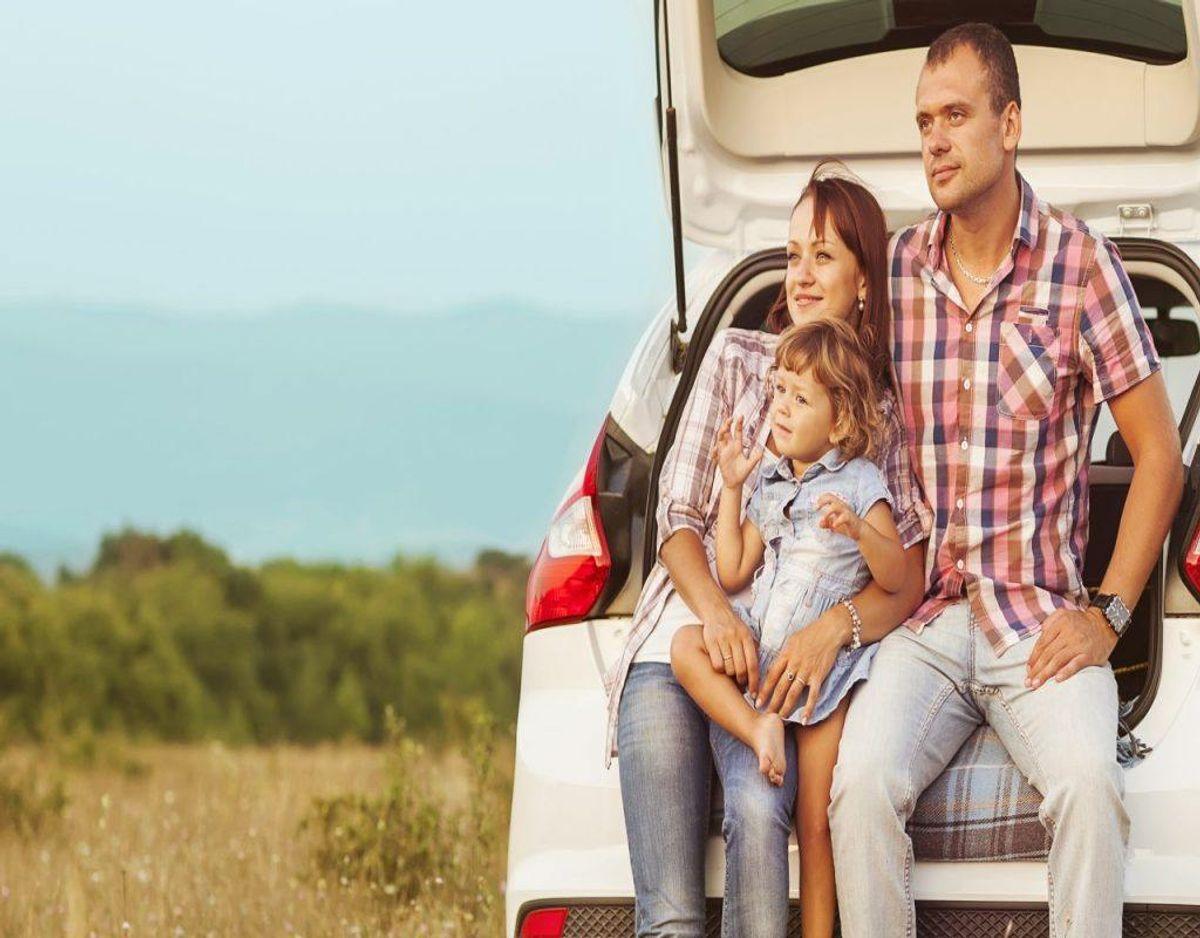 Hvis du er typen, der elsker at tage bilen på ferie, så skal du indstille dig på mange – og lange pauser. Foto: Colourbox