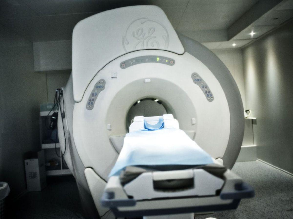 En blodprop i hjernen kan afsløres af en MR-scanner. Foto: Scanpix.