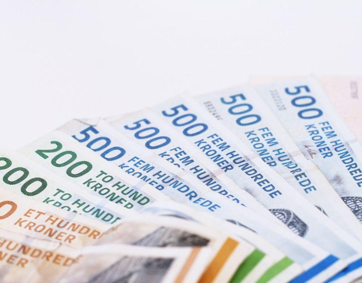 Årlig indkomst før skat: 400.000 – udbetaling på 16.800 kroner efter skat.