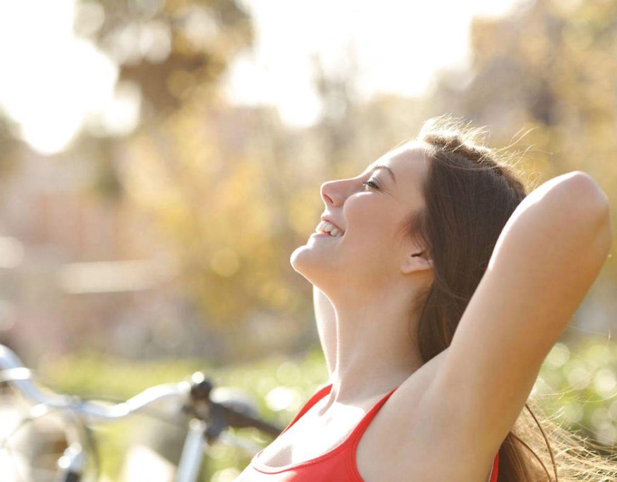 Dine muskler har brug for ilt for at fungere rigtigt. Så hus at kombbinere udstræningen med gode, dybe åndedrag. Klik videre i galleriet for flere gode råd. Foto: Scanpix.