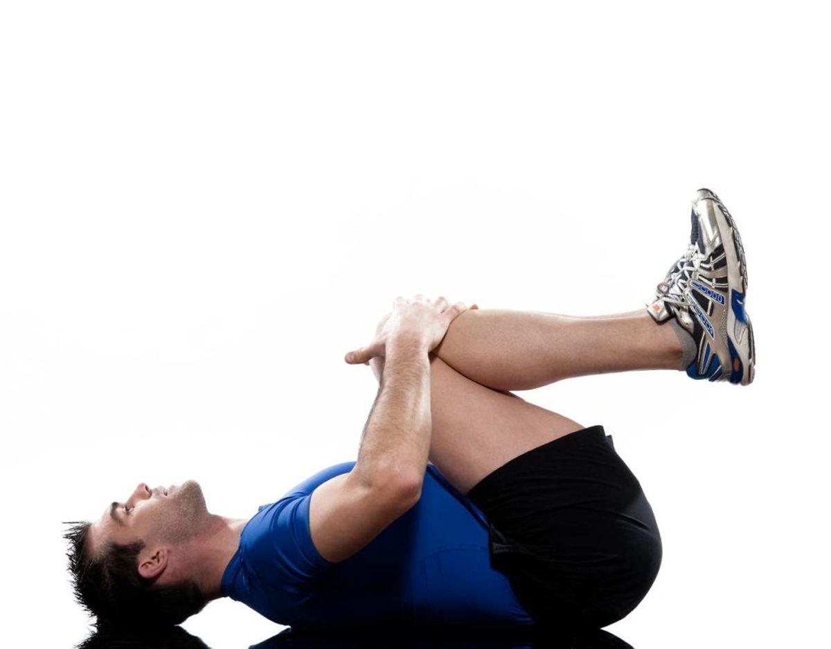 Hvis du har en skade, kan udstrækning forværre smerten. Undtagelsen er naturligvis, hvis du træner hos en fysioterapeut, der har en strækplan for dig. Klik videre i galleriet for flere gode råd. Foto: Scanpix.