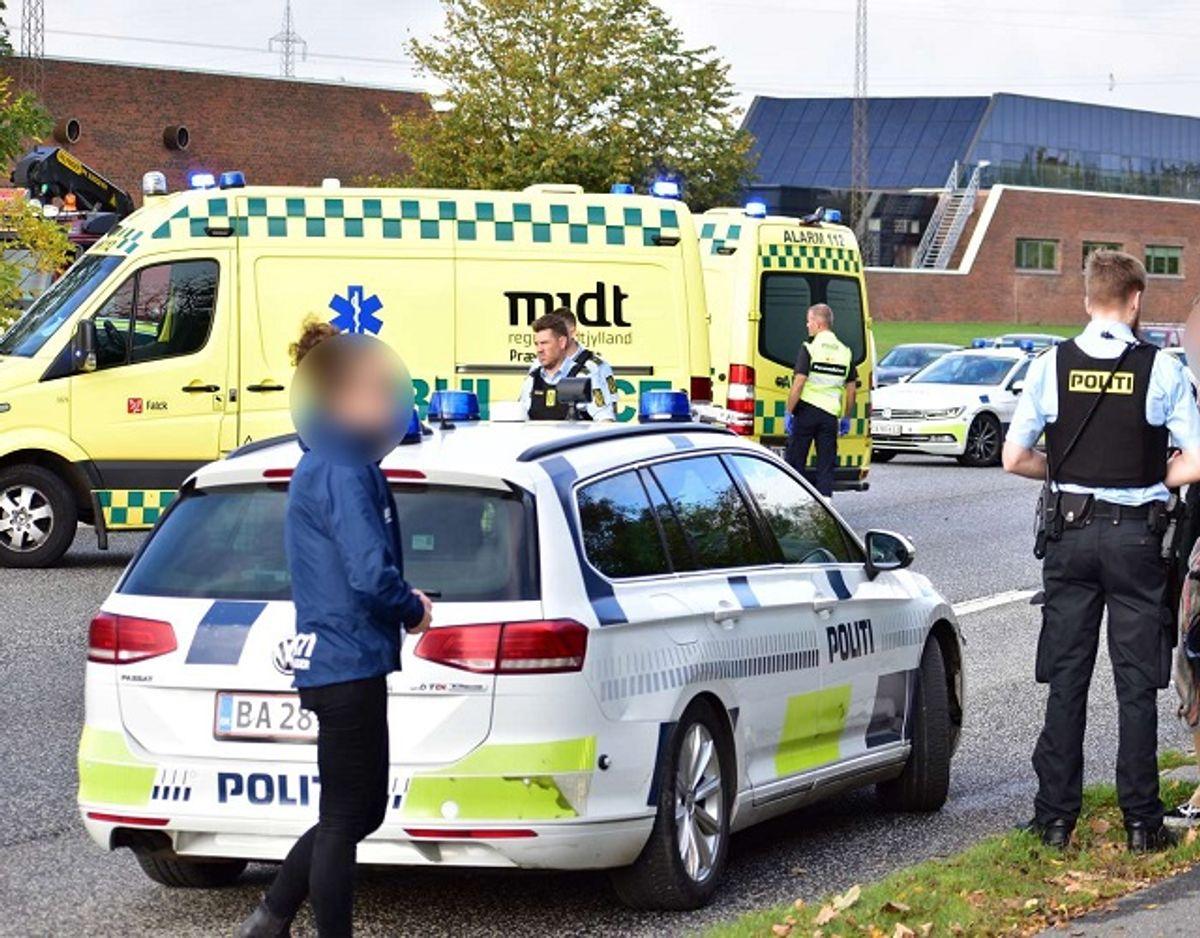 6. oktober blev en 23-årig kvinde dræbt i krydset. Foto: Øxenholt Foto.