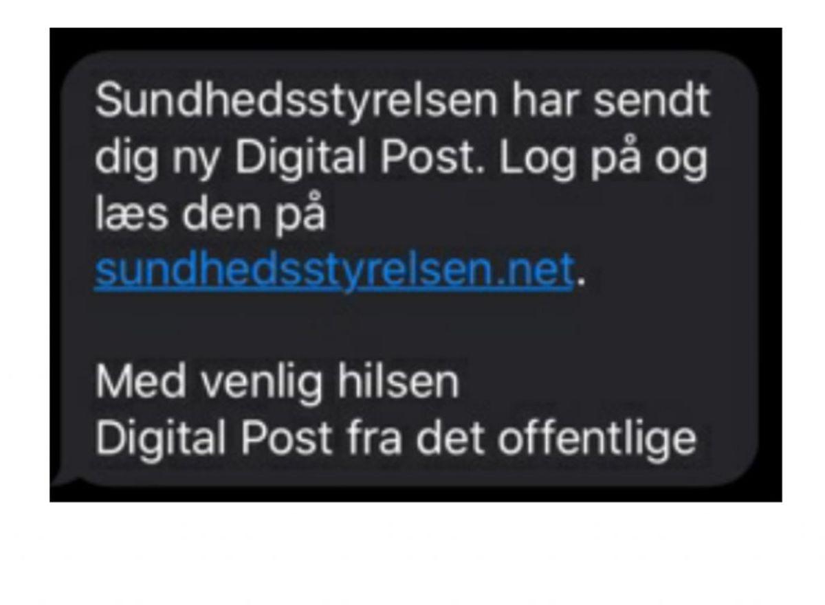 Der vil ikke være link i sms'er fra myndigheder til Digital post. Foto: Mit Digitale Selvforsvar