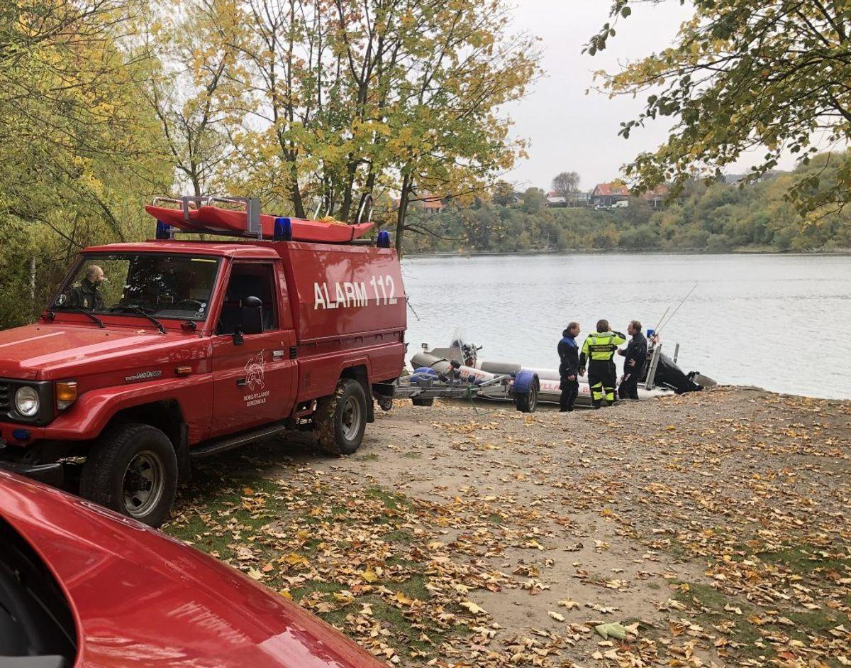 En kvinde er fundet livløs i vandet ved Druevej i Aalborg. KLIK VIDERE OG SE FLERE BILLEDER. Foto: Rasmus Skaftved