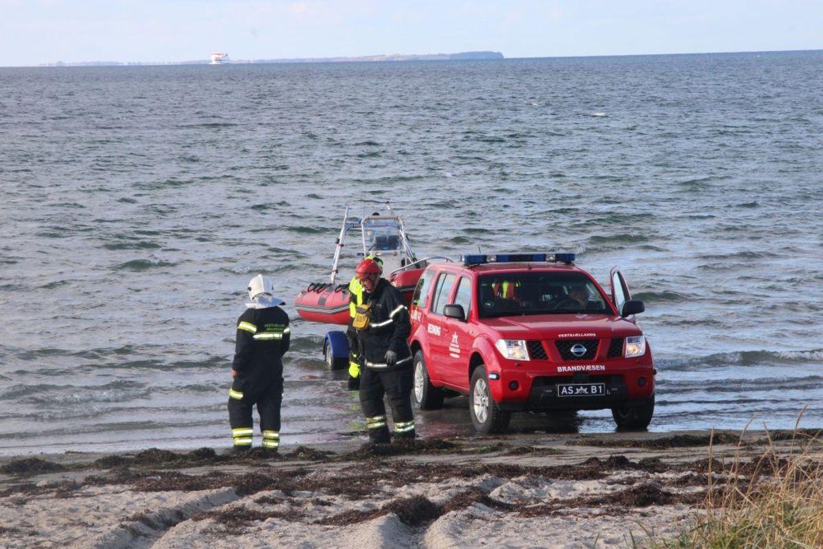 Ved Hørve faldt to over bord. Klik for flere billeder derfra. Foto: Presse-fotos.dk