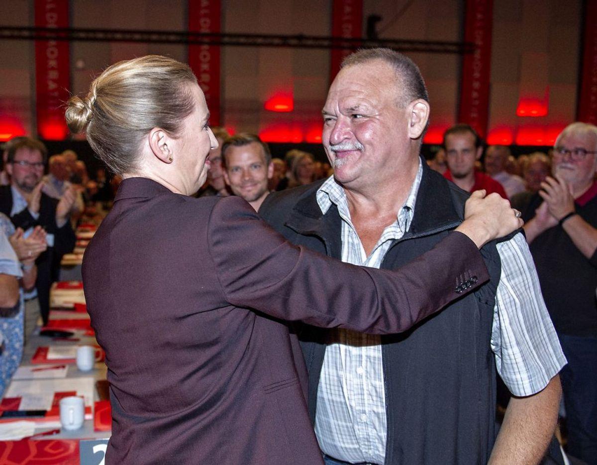 Arne selv havde ikke så meget at gøre med selve forhandlingerne. (Foto: Henning Bagger/Ritzau Scanpix)