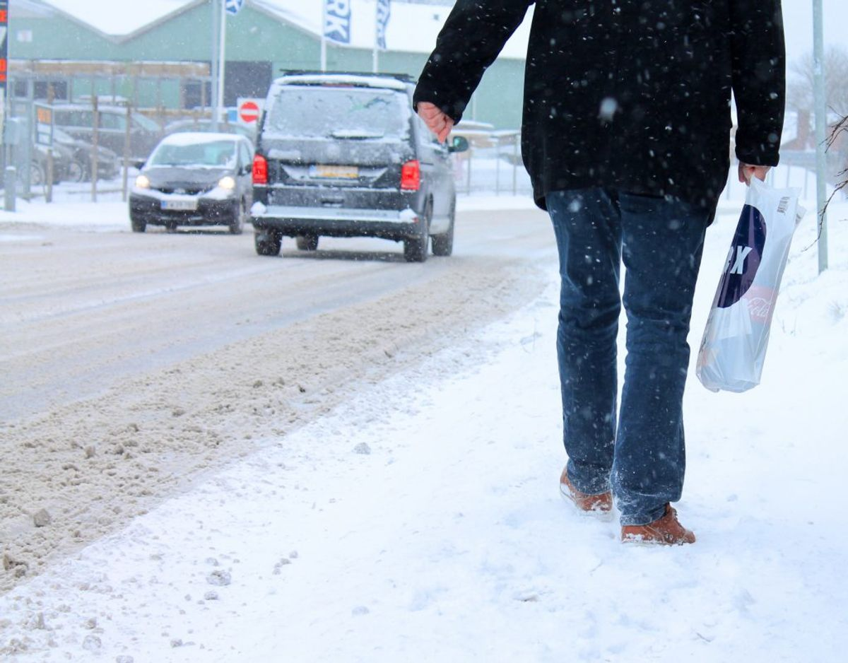 FDM anbefaler, at du hvert andet år får en uvildig fagperson til at vurdere, om din bil trænger til rustbehandling. Genrefoto. KLIK og læs mere om biler, vinter og sne.
