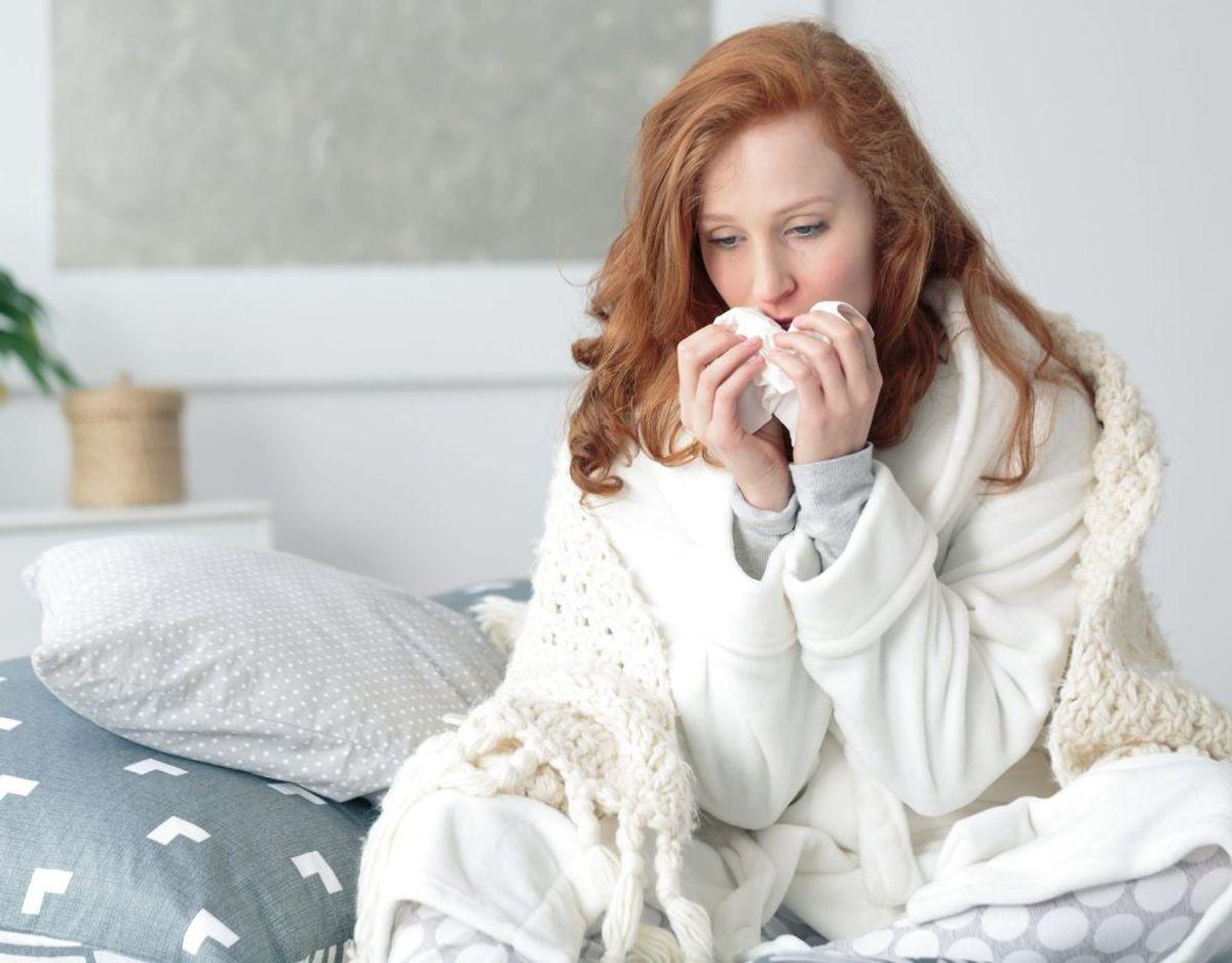 Influenza er faktisk en farlig sygdom, der hvert år koster mange danskere livet. Foto: Scanpix. KLIK VIDERE OG LÆS OM DE SYMPTOMER PÅ INFLUENZA, DU SKAL HOLDE GODT ØJE MED!