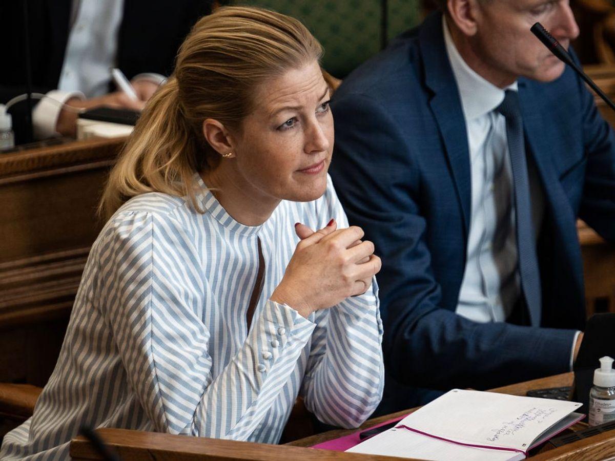 Den hidtidige næstformand, Sofie Carsten Nielsen, bliver politisk leder efter et kampvalg mod Martin Lidegaard. (Foto: Emil Helms/Ritzau Scanpix)