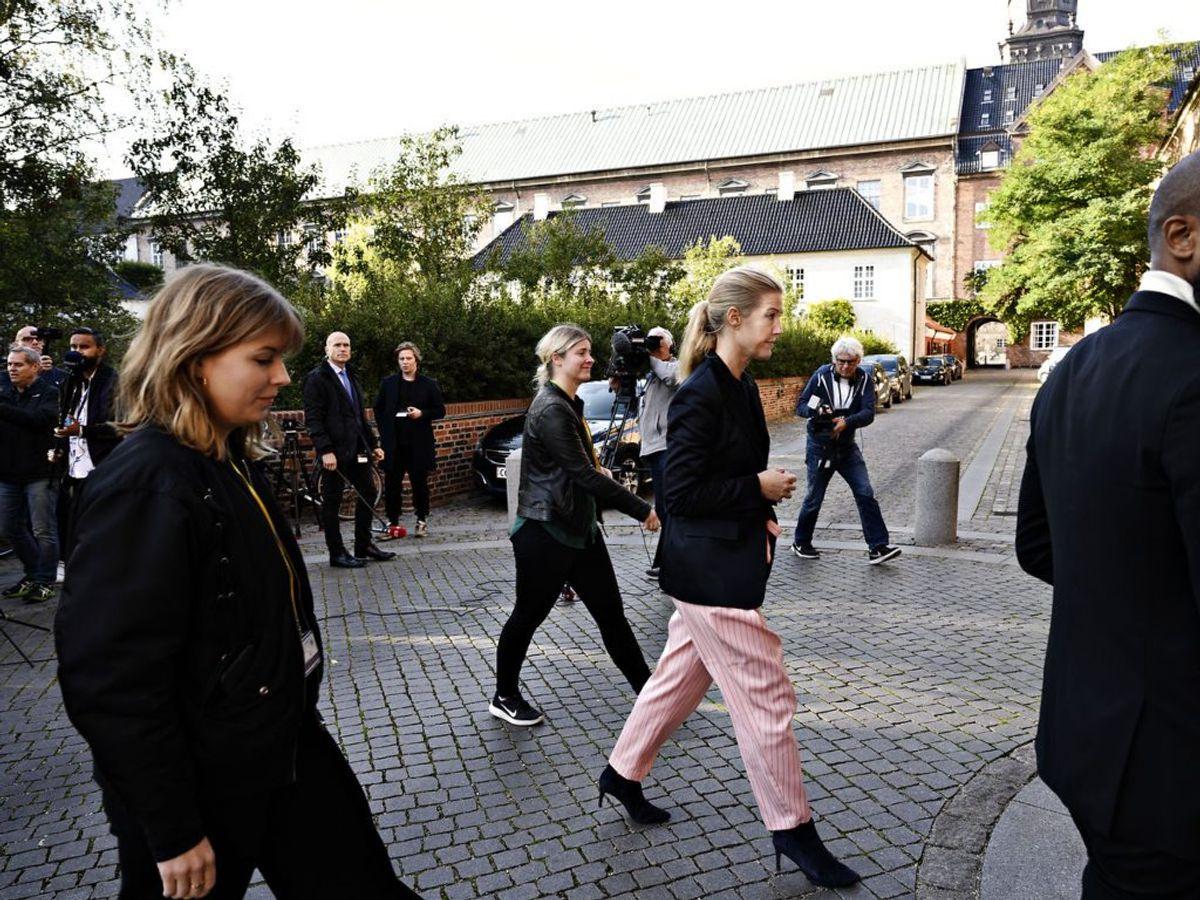 9. oktober skriver Morten Østergaard på Facebook, at tre kvinder har oplevet uønsket seksuel opmærksomhed fra ham i festligt lag. Den nyudnævnte leder, Sofie Carsten Nielsen, afviser at have kendt til de nye sager.  (Foto: Philip Davali/Ritzau Scanpix)