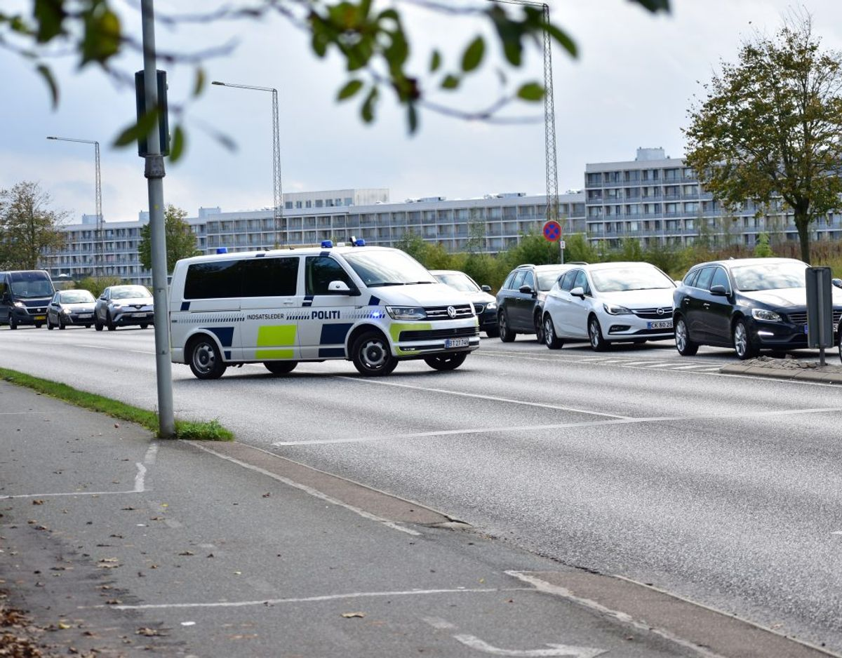 Politiet efterforsker fortsat sagen. Foto: Øxenholt Foto.
