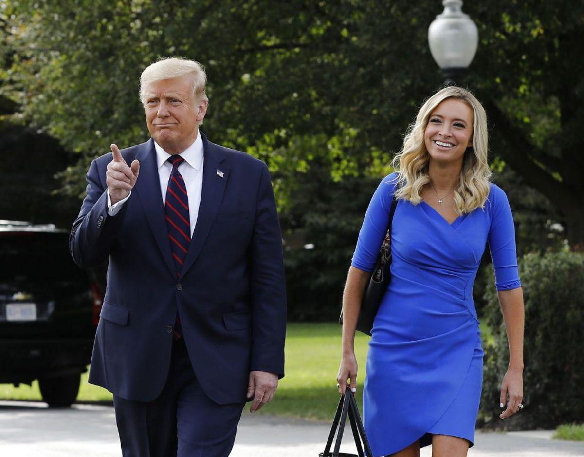 Præsidenten siger til amerikanerne, de ikke skal være bange for Covid-19. Foto: Scanpix