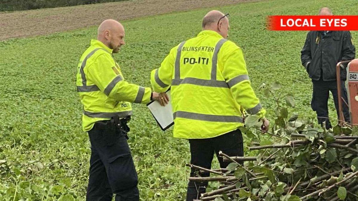 En bilinspektør har undersøgt traktor for at se, om der er teknisk forklaring på ulykken. Foto: Local Eyes