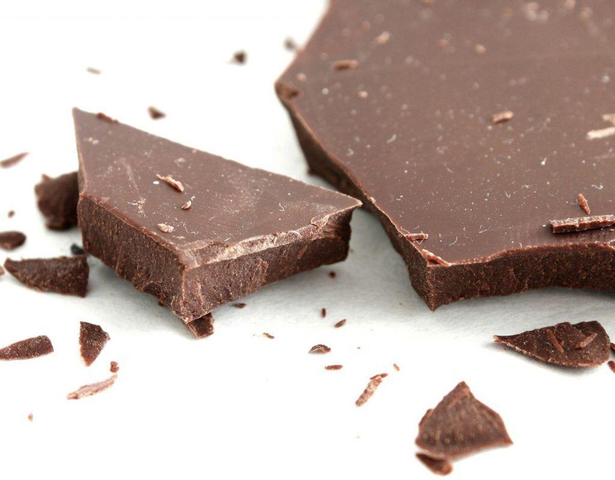 Chokolade, kaffe, te og koffein: Opkast og diarre samt påvirkning af hjertet og nervesystemet.