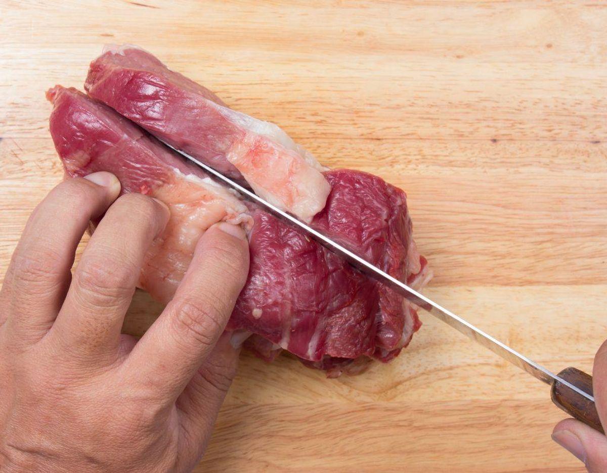 Det anbefales desuden at man fjerner al synligt fedt fra kød.