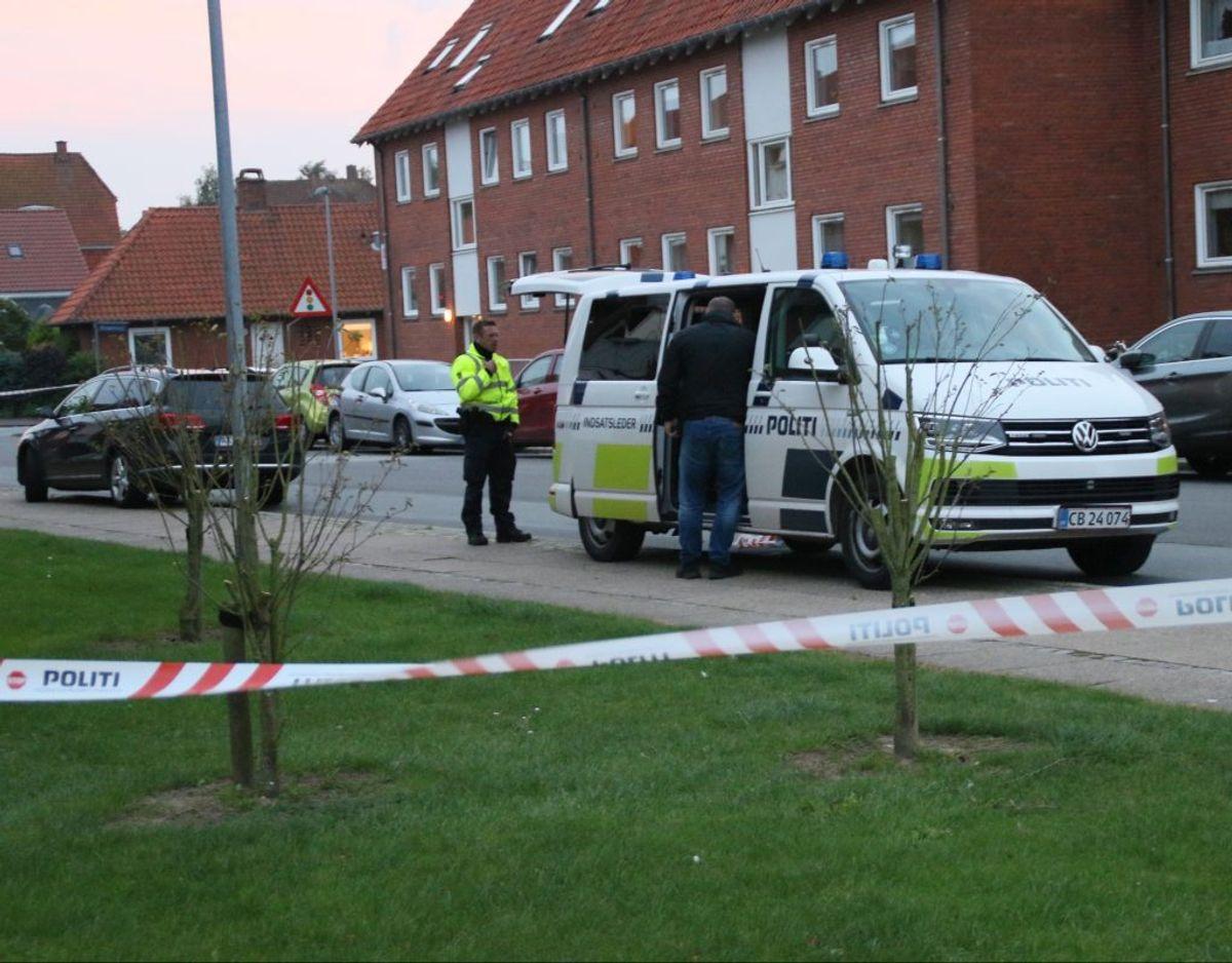 To personer dræbt – den ene af politiet. Foto: PResse-fotos.dk