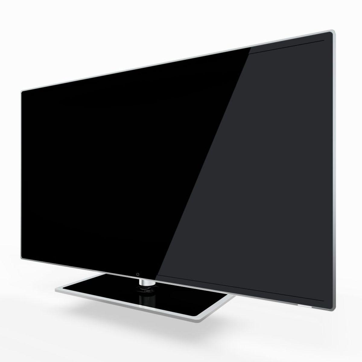 LED-tv 32 tommer – cirka 40 kWh om året: 80 kroner. Arkivfoto.