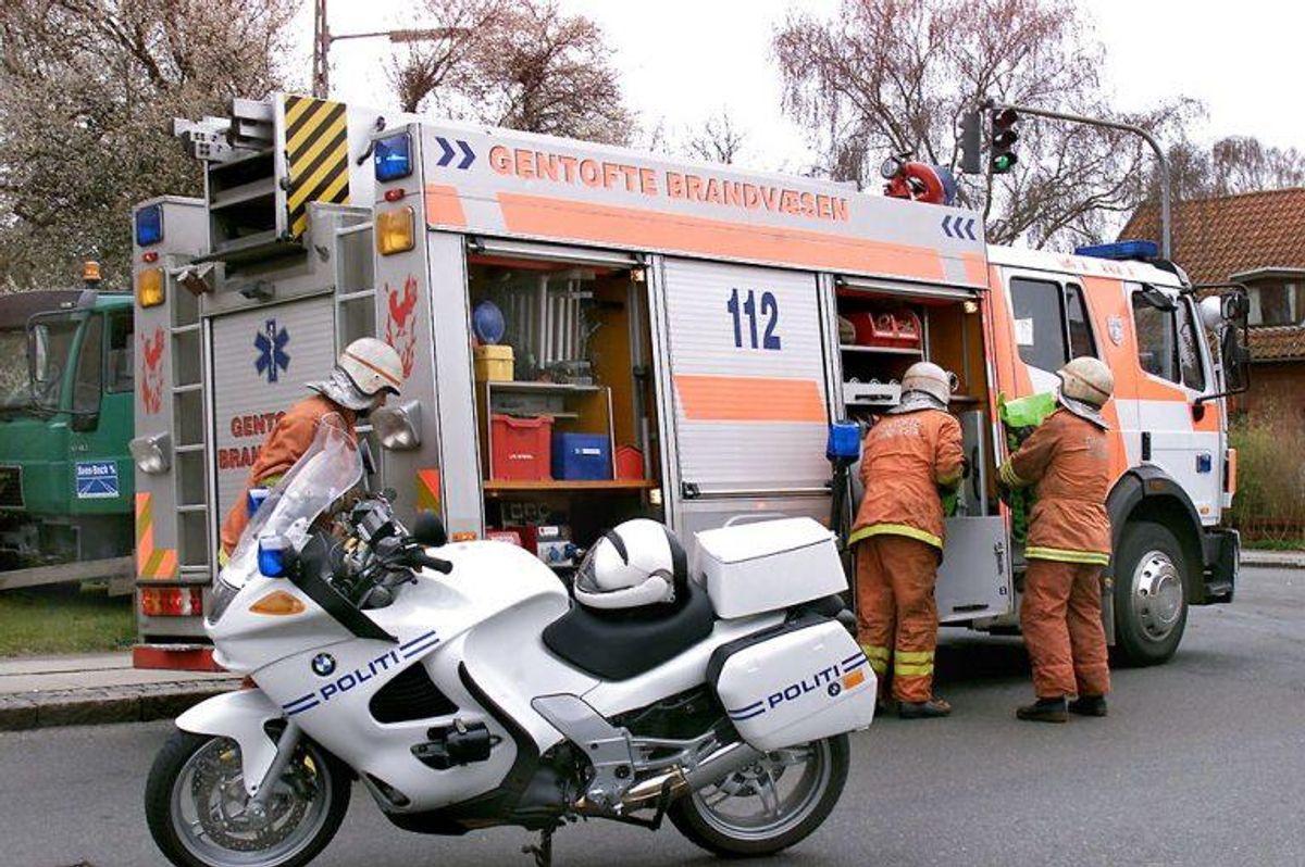 Vi må selvfølgelig heller ikke helt glemme motorcyklerne, Her en ny BMW. Foto: BENT MIDSTRUP/Scanpix.