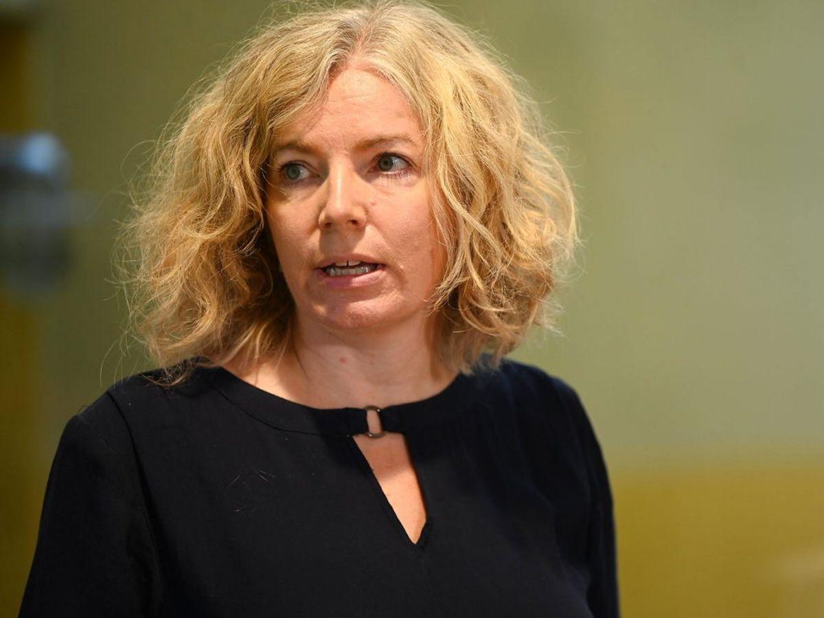 Koncerndirektør hos ATP Anne Kristine Axelsson mener ikke, der vil være forsinkelse med udbetalingen af feriepenge. Foto: Philip Davali/Ritzau Scanpix