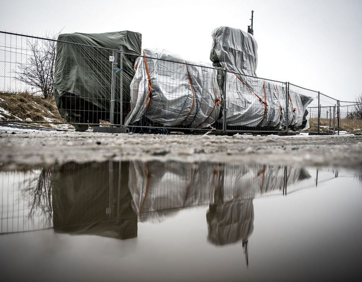 UC3 Nautilus blev forvandlet til et gerningssted, da Kim Wall blev dræbt.  Foto: Mads Claus Rasmussen/Scanpix 2018.