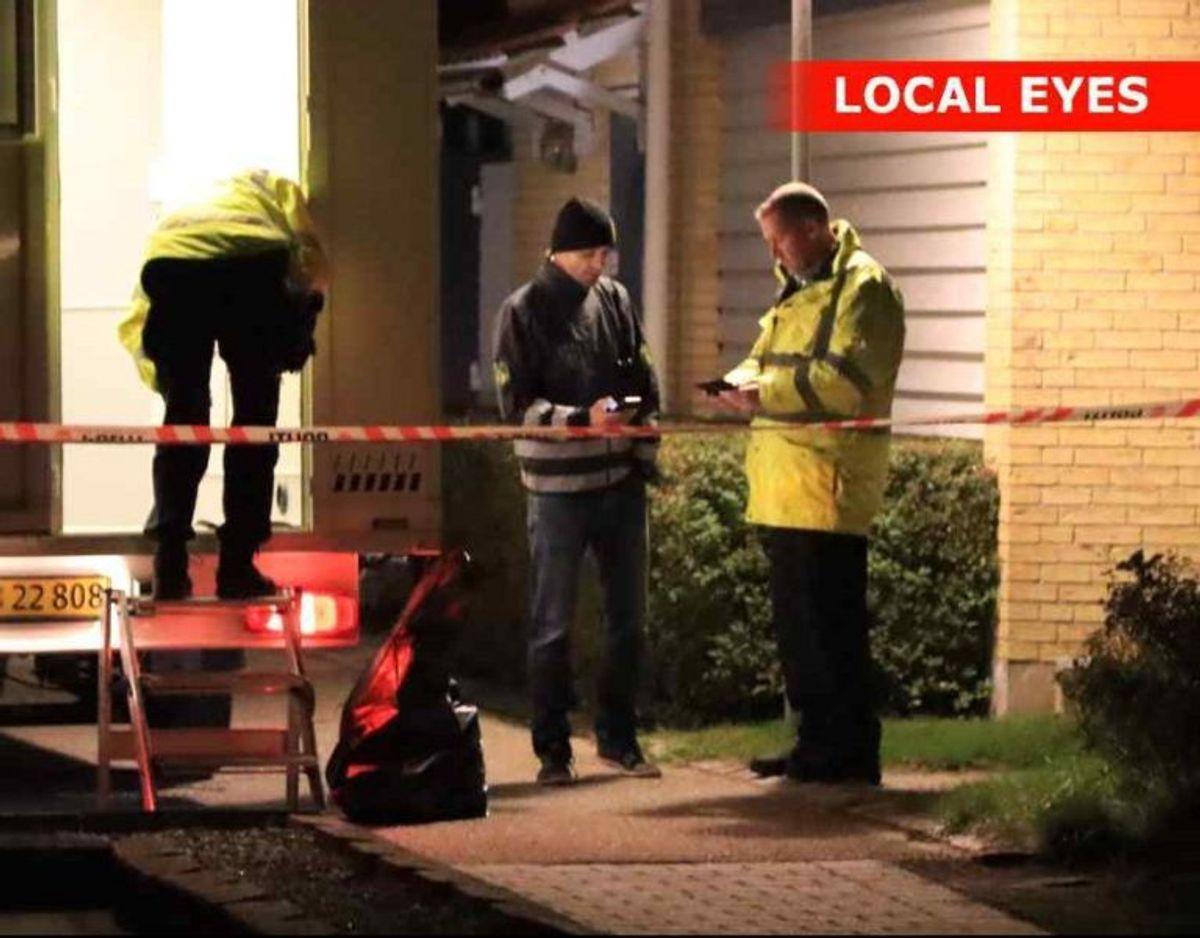 Den 31-årige blev fundet død på gaden foran sit hjem i Gundsømagle. Foto: Local Eyes