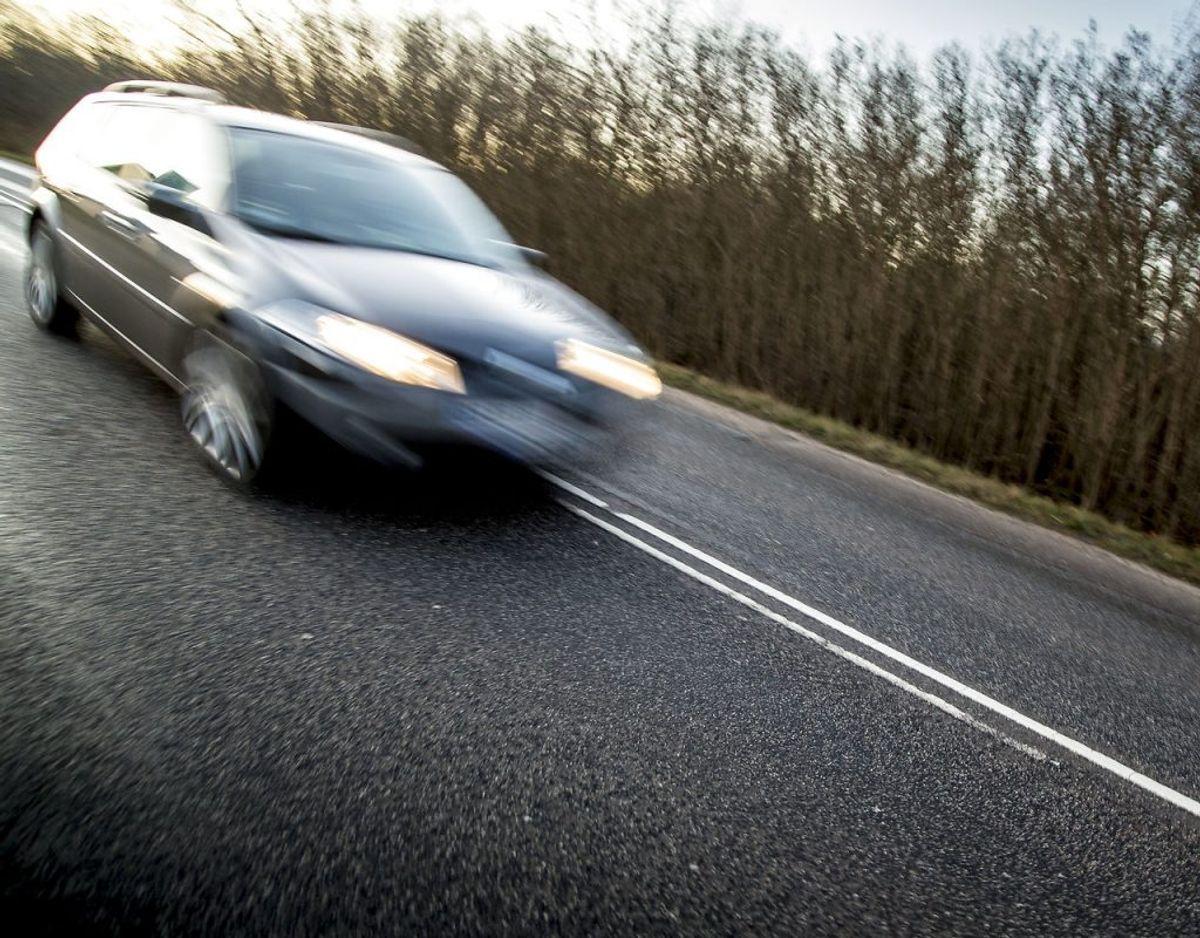Der er massiv opbakning blandt bilister til et nyt lovforslag, der skal sætte ind mod vanvidskørsel. Klik videre for flere billeder. Foto: Mads Claus Rasmussen/Ritzau Scanpix