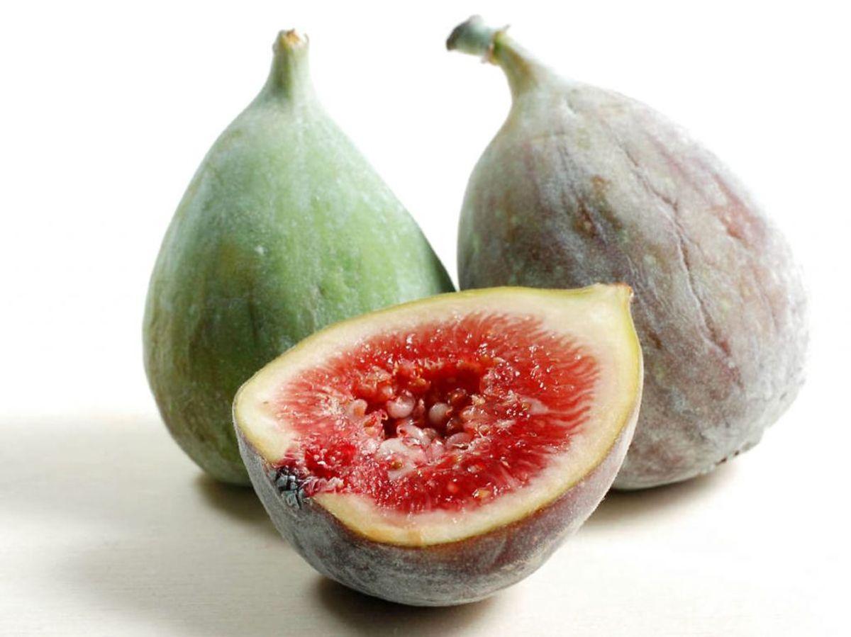 Figner er pakket med fibre. Ved bare at spise omkring tre figner, får du knap fem gram fibre. Foto: Ritzau Scanpix