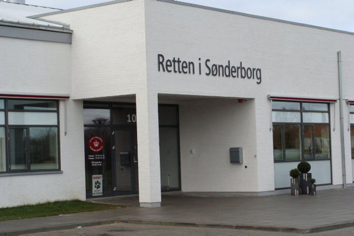Retten i Sønderborg har idømt en 39-årig mand to et halvt års fængsel for at have forgrebet sig på en pige, da hun var fem-seks år. Overgrebene delte han på det mørke net. (Arkivfoto) Foto: Domstolsstyrelsen/Free