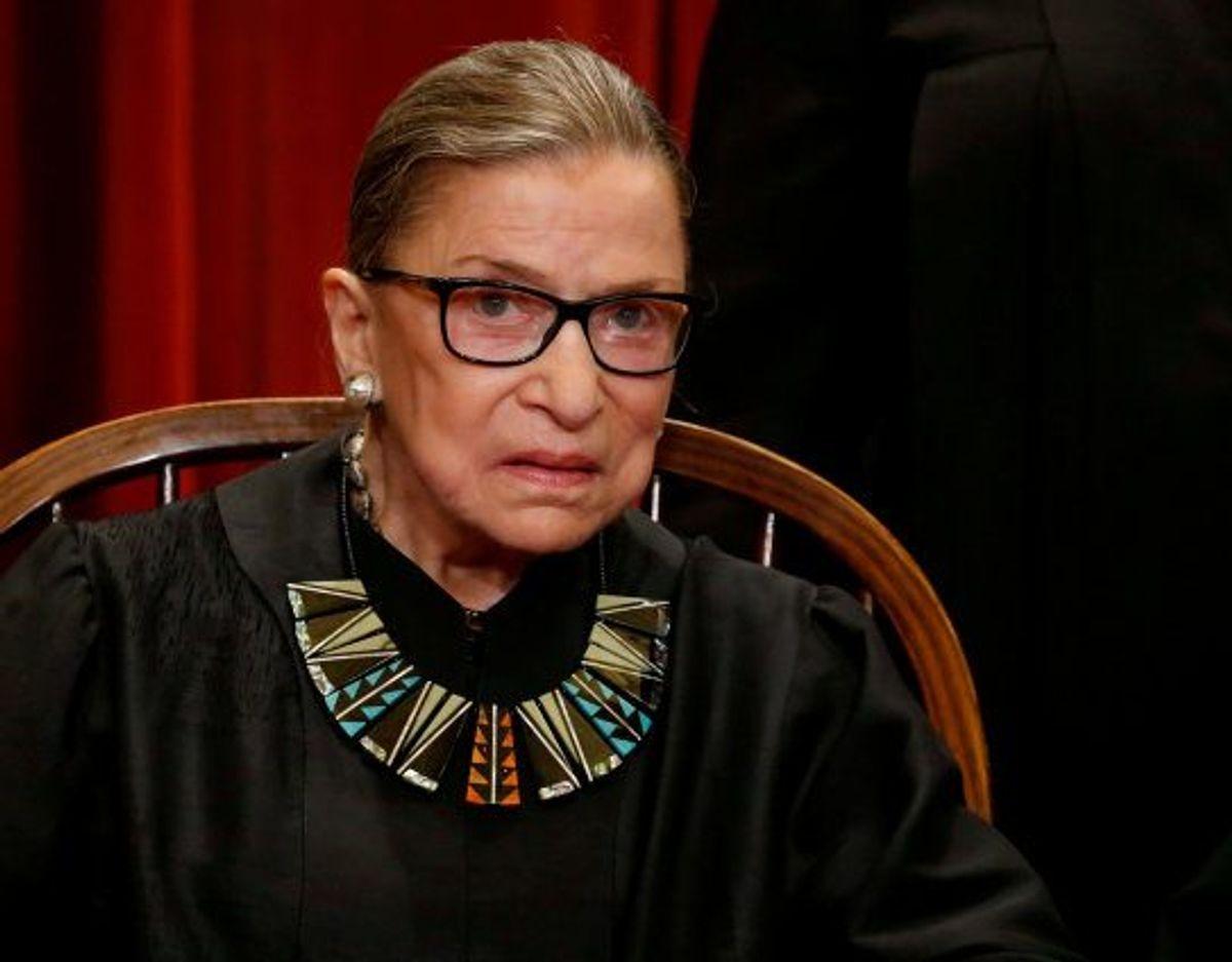 USA's ældste højesteretsdommer, Ruth Bader Ginsburg, er død fredag i en alder af 87 år. (Arkivfoto) Foto: Jonathan Ernst/Reuters