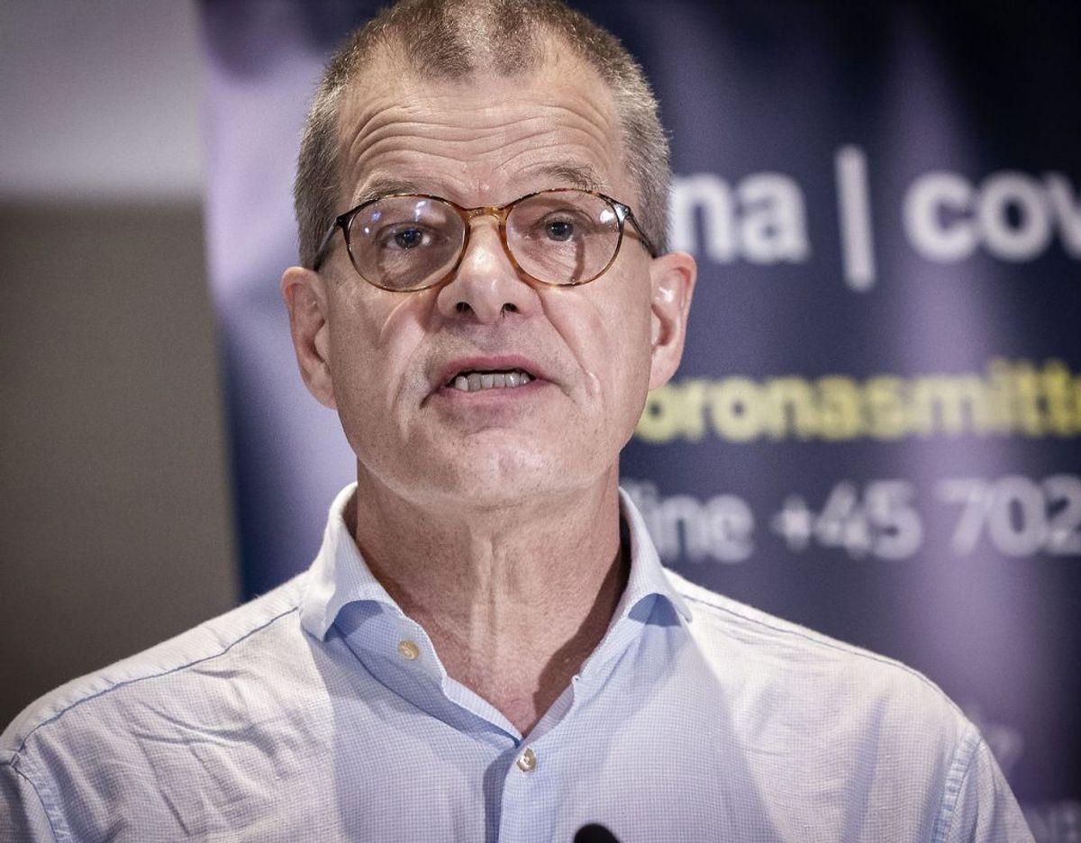 Kåre Mølbak understreger, at sygdommen ikke er blevet mindre farlig. (Foto: Liselotte Sabroe/Scanpix)