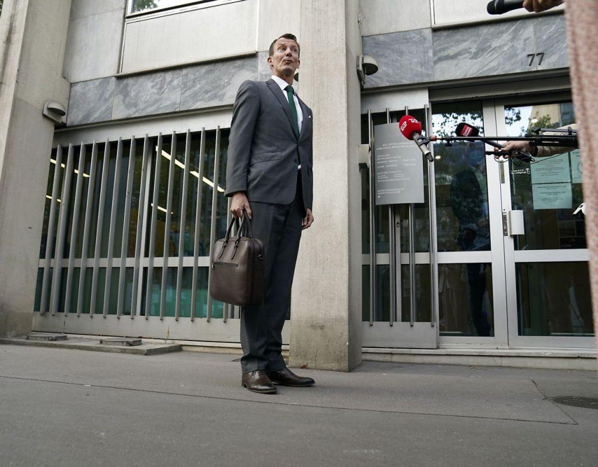 Prins Joachim starter på nyt job som forsvarsattaché på Den Danske Ambassade i Paris, fredag den 18. september 2020. Foto: Scanpix