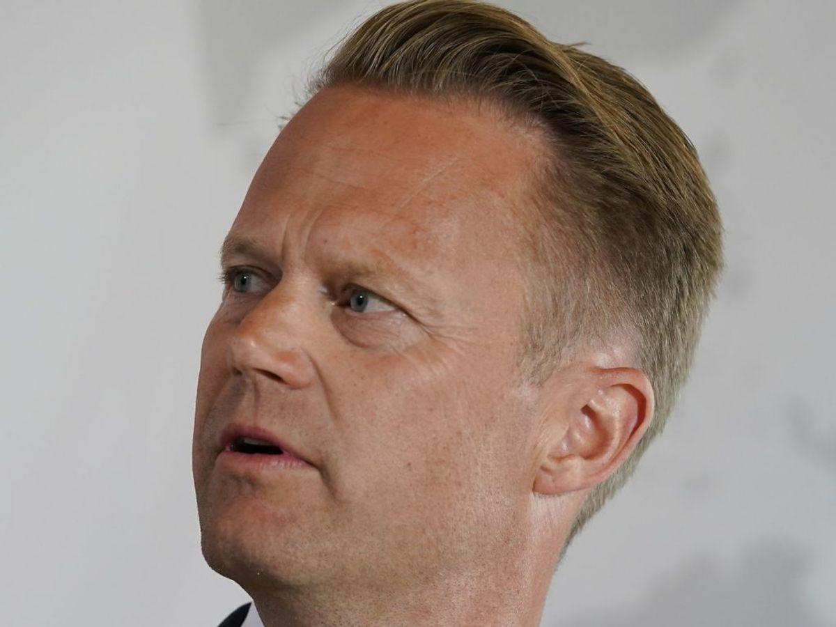 Udenrigsminister Jeppe Kofod undskylder for at have haft sex med en mindreårig i 2008. Foto: Ida Marie Odgaard/Scanpix.