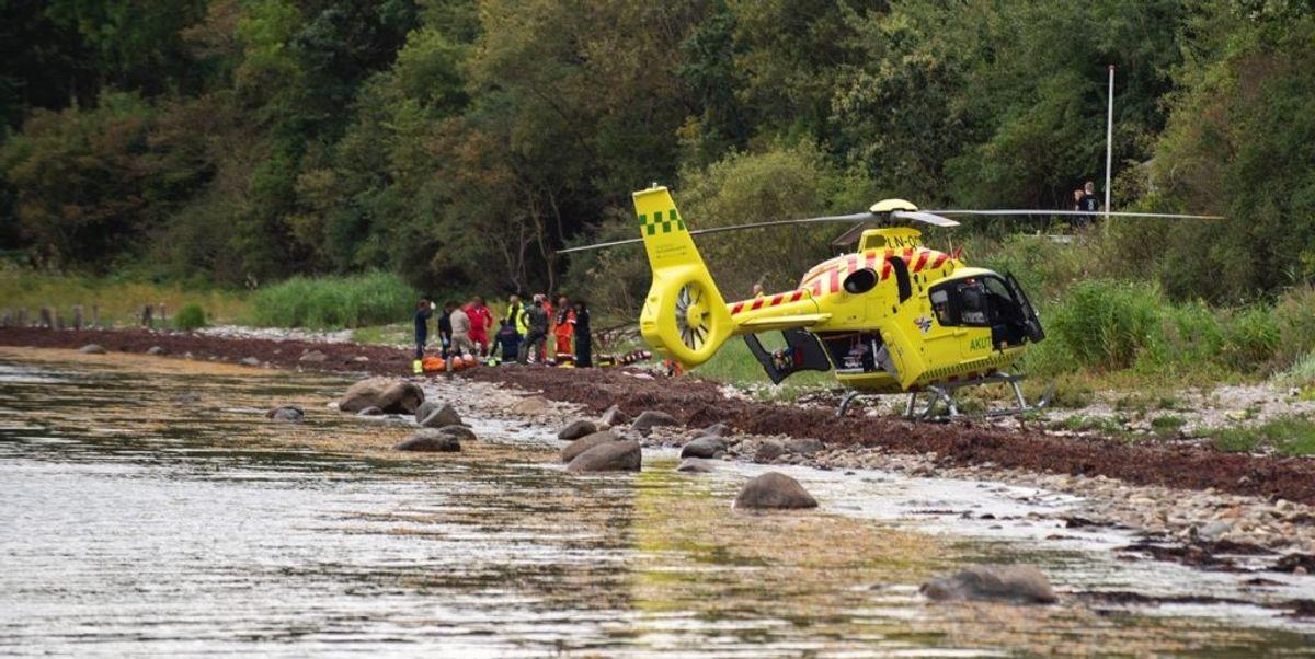 En dykker er død i en ulykke i Fynshav. Foto: Presse-fotos.dk.