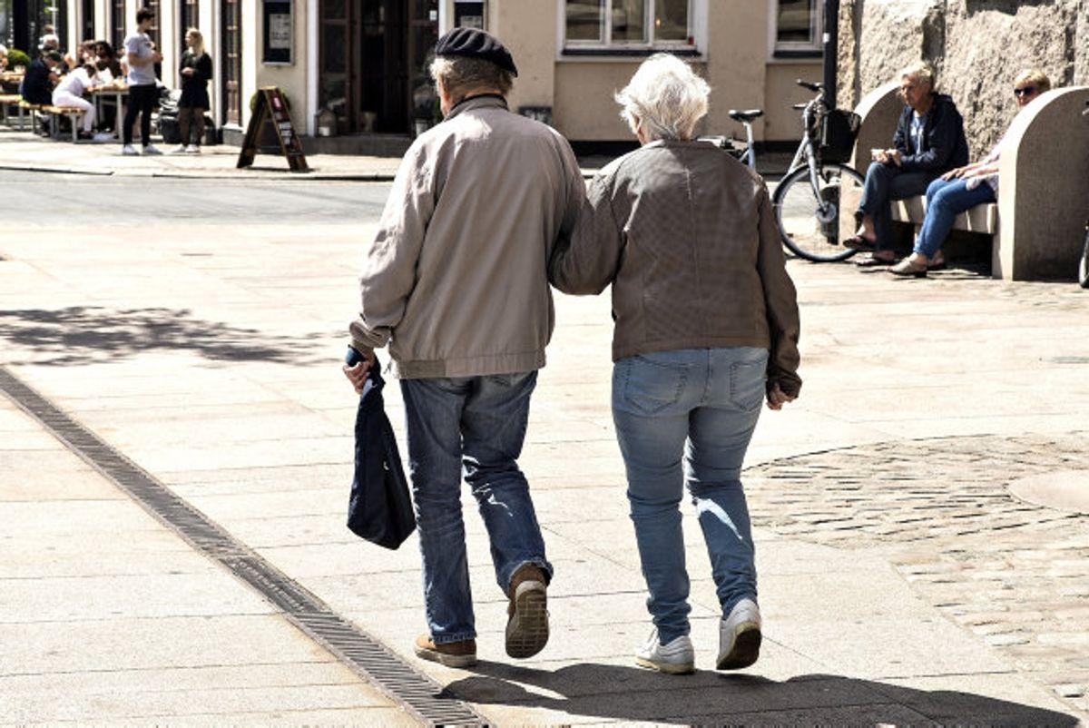 Nogle lønmodtagere kan tjene på at undgå at spare op til pension, skriver Jyllands-Posten. (Arkivfoto). Foto: Henning Bagger/Scanpix