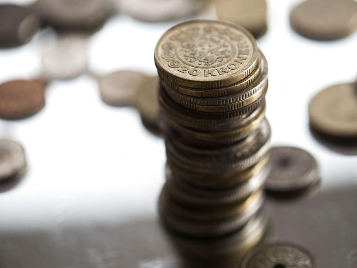 Få overblik over din økonomi, så den ikke bliver en stressfaktor. Ser det slemt ud, skal du overveje, hvordan du skaffer en større indtægt ved for eksempel at gå på kompromis med dine ønsker til arbejdsindhold. (Foto: Kristian Djurhuus/Ritzau Scanpix)